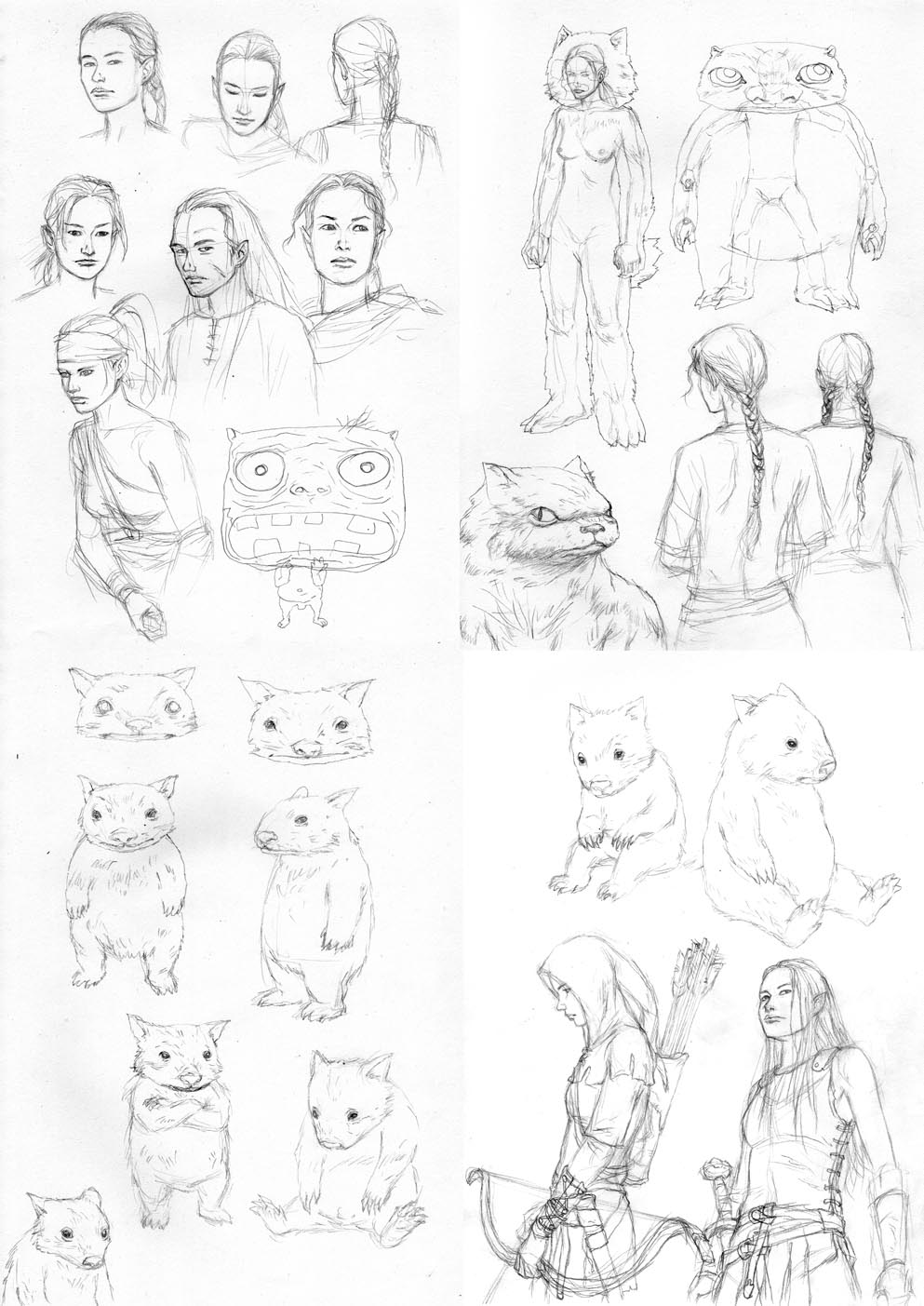 early concept drawings