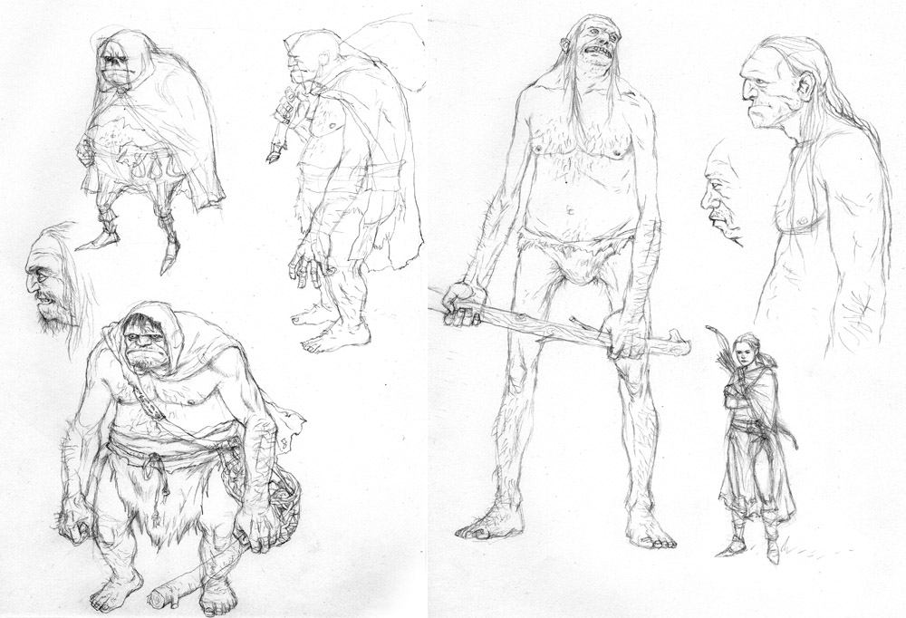 giant concept drawings