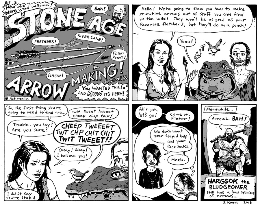 "#31 ""Stone Age Arrow Making!"""