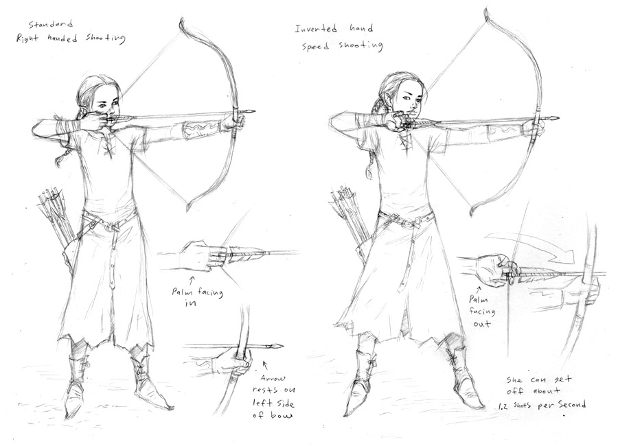 Archery Sketches