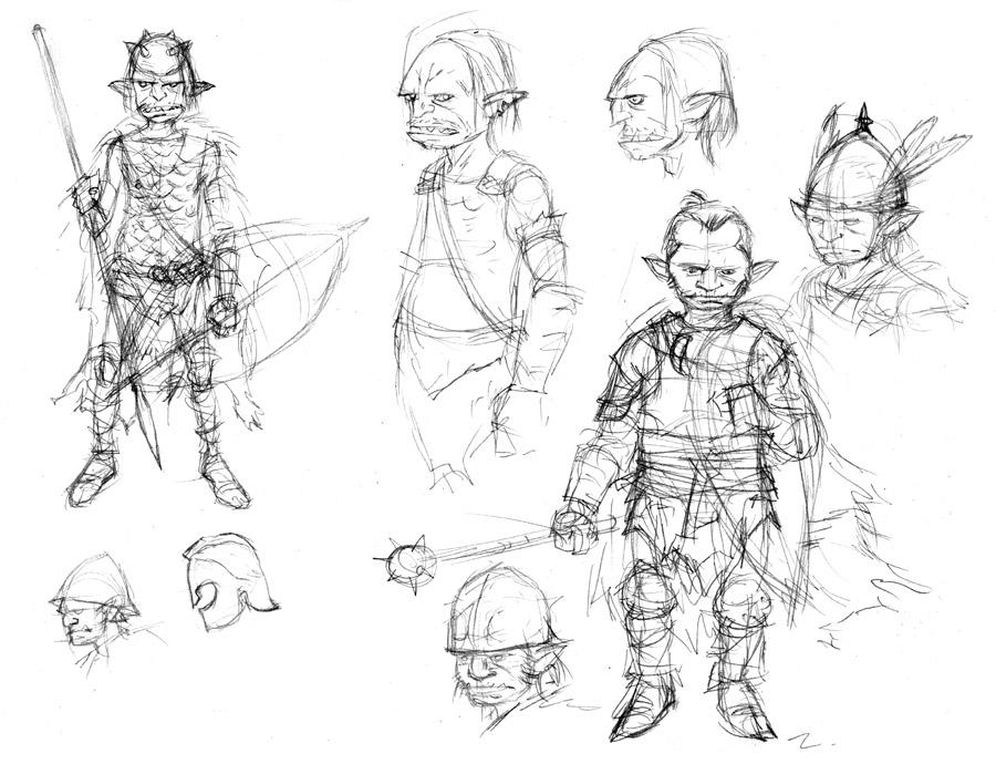 Goblin Sketches 01