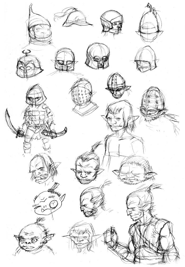 Goblin Sketches 02
